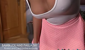 Girlfriends oriental spread out orgasmic face seated with hawt russian camgirl