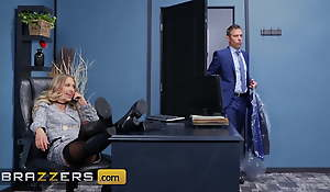 Sexy Blonde Secretary Khloe Kapri Pounded Hard Unconnected with Her Boss