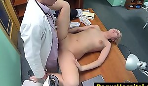 Cockloving euro gratified by doctors prick
