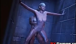 Resident Evil PMV Series Hard-core 3D Fuck