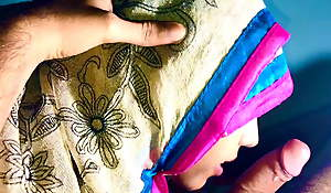 INDIAN MUSLIM HIJAB, colorful deepthroat desi face leman