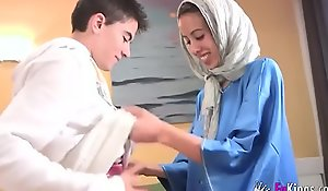 We stun jordi overwrought gettin him his major arab girl! phthisic teen hijab