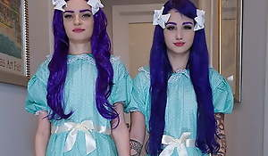 Come Play With Us! Evil Twin STEPSISTERS Suck Me OFF