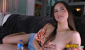 Young, all-natural, busty Asian Alexia Anders, your new fav!