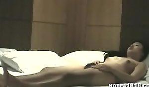 Sexy Korean escort bonks for money
