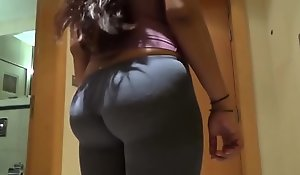 Desi Big Ass Wife Doggy Fuck With Glaring Moans 4
