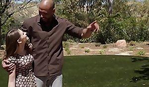 Stepteen take on stepmom to suck stepdad