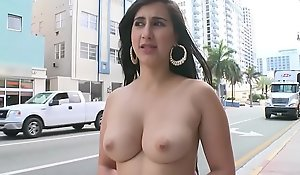 BANGBROS - Young PAWG Valerie Kay On An obstacle Streets Be beneficial to Miami Beach Giving An obstacle World A Show