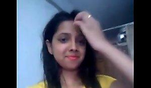 indian lawful majority teenager selfie in one's birthday suit