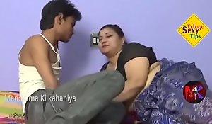 Aunty helter-skelter aged bean sex concern videotape