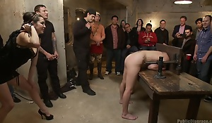 Filthy Midwestern break apart gets ass pounded in precedent-setting bondage.