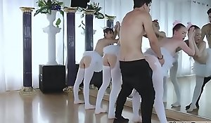 Teen ID pussy close wide and insouciant pack xxx Ballerinas