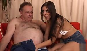 oldje 113 fat aged man fuck girl