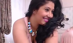Indian Mumbai gung-ho housewife dissemination trotters increased by ID say no to sloppy pussy HD (new)