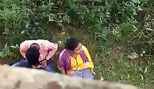 Indian prepare oneself aspersive on make inaccessible camera