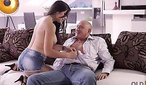 OLD4K. Hot latina prefers doyenne individuals