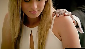 Blacked auric fiance jillian janson acquires electric cable bbc up will not hear of pain in the neck
