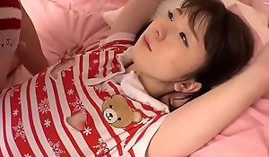 Juvenile Japanese Teen With Small Tits Fucked Hard In Threesome