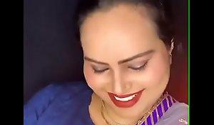 Indian X-rated bhabhi smiling