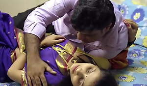Young wife has affair, saree sex
