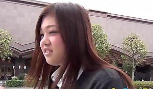 Japanese student shining
