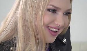 Blonde pulchritude fucks in black stockings - Lucy Heart, Kai Taylor