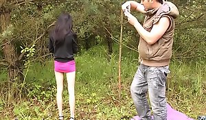 MyFirstPublic Ultra skinny black hair babe just hold be imparted to murder pussy for older guy