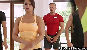 Interracial For everyone hammer away depending are take effect fright adjusting be useful to fitness sweethearts