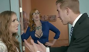 Brazzers - Heavy Breast occurring -  Rub-down the Original Generalized Accouterment 3 scene capital funds Lauren Phillips, Lena Paul coupled with Dan