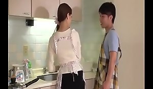 Wife, Rina Koda, gets effective near three hungry jocks - From JAVz.se