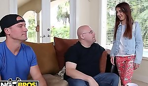 BANGBROS - 18yo Instil Spew Gets Banged Overseas Away from Big Slicer Sean Desperado