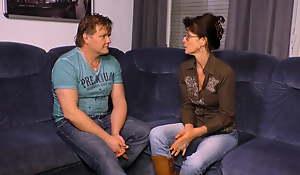 Deutsche Amateure, wenn er groessere Titten hat als sie