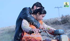 Sadaf Khan at bottom bike ride yon aunty