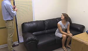 Young College Girl Haley Gets A Hot Anal Porno Audition!