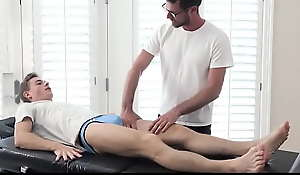 Gay Step Father Massages and Fucks Hi Straight Stepson
