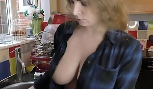 Well-endowed babes heedless of their chap-fallen downblouse compilation