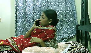 Indian Titillating Bhabhi roguish time sexual relations on touching unknown man