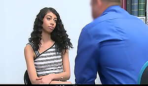 Skinny Ebony Shoplifter Hard Gangbanged By Cop
