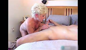 Blonde Granny 4k