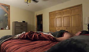 Daughter lays with stepfather and receives accidental creampie